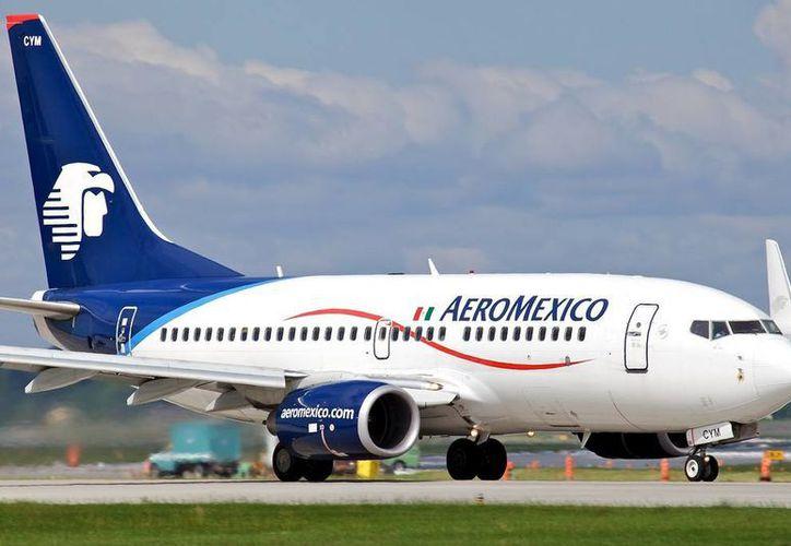 Aeroméxico precisó que los boletos de avión adquiridos antes del 1 de febrero quedan exentos de realizar el pago por la primera maleta documentada.  (Foto:www.ejecentral.com.mx)