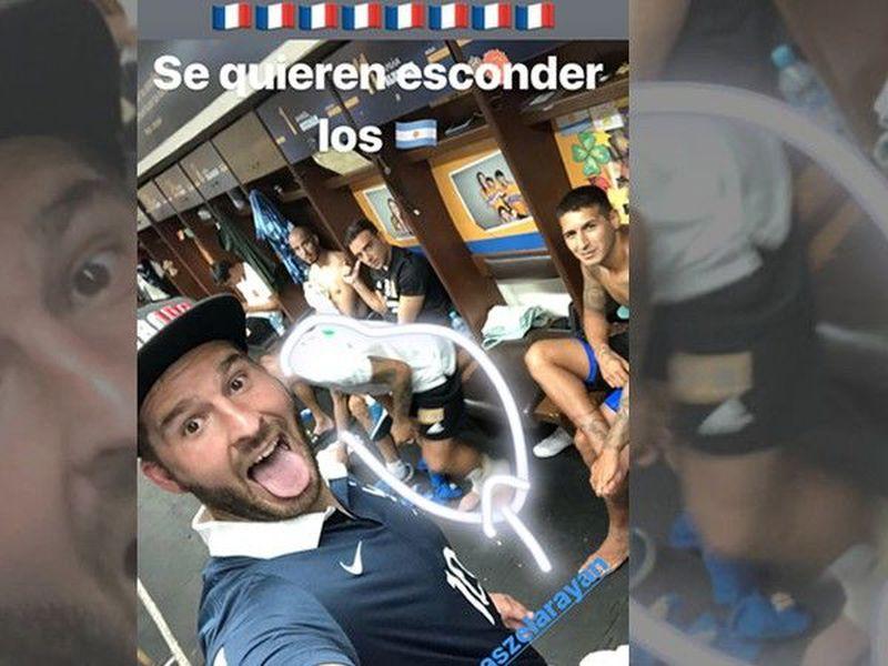 André Pierre Gignac, con el uniforme que vistió con Francia en la Euro 2016, vio como los suyos superaban a Argentina (Foto de Instagram)