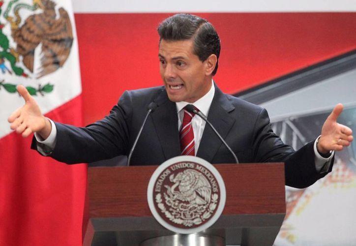Peña Nieto aseguró que los beneficios de la reforma energética pueden comprobarse en la reducción de las tarifas eléctricas. (Archivo/Notimex)