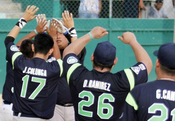 Telerines de Tamaulipas se impone 13-0 a Senogrev de Campeche. (Francisco Gálvez/SIPSE)