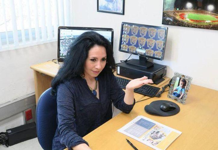 La investigadora del Instituto de Geografía de la UNAM, Irasema Alcántara, recibió la medalla Sergey Soloviev 2016, otorgada por la Unión Europea de Geociencias. (@laprensaoem)