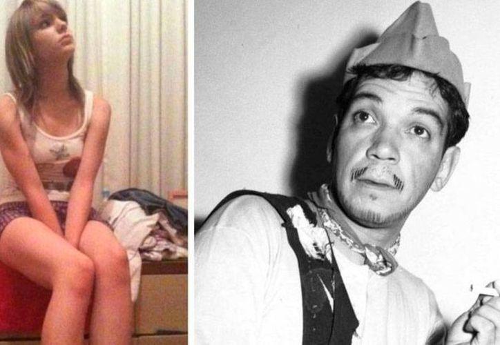 La nieta de Mario Moreno 'Cantinflas', Marisa Moreno, sufrió una fuerte golpiza a manos de esposo. (fotocomposición: siglodecoahuila.mx)