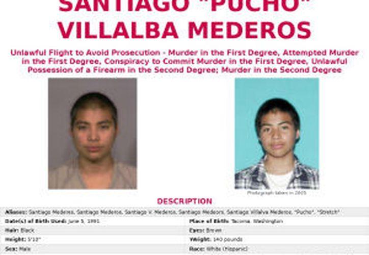 Santiago Villalba Mederos es estadounidense, de familia mexicana.  (www.fbi.gov)