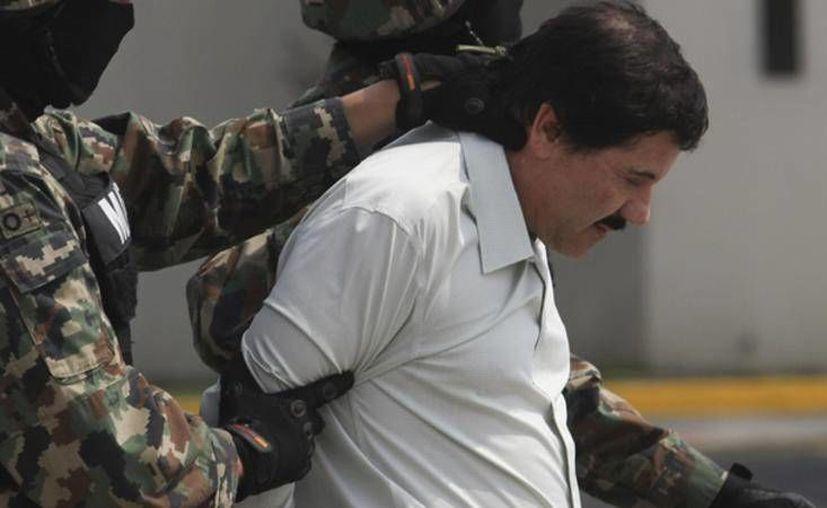 Estados Unidos reclama la extradición de Joaquín Guzmán Loera para enjuiciarlo por varios cargos de narcotráfico y asociación delictuosa. (Archivo/Agencias)