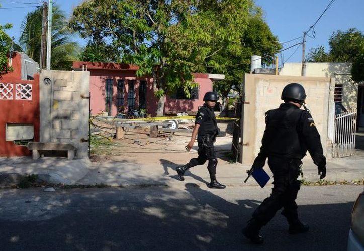 Enrique N disparó su arma por accidente, lesionando a Sabdí N, ambos elementos de Seguridad Pública, pertenecientes al Sector Sur de Mérida. (SIPSE)