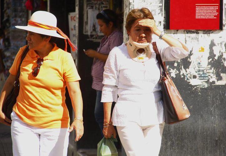 Los meridanos deberán soportar fuerte bochorno durante estos días. (Juan Albornoz/SIPSE)