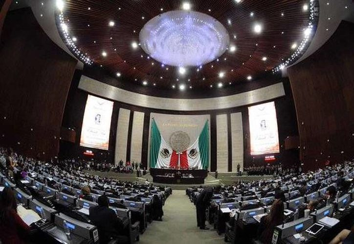 Imagen de la Sesión ordinaria de la Cámara de Diputados donde aprobaron 122 puntos de acuerdo en un solo acto. (@Mx_Diputados)