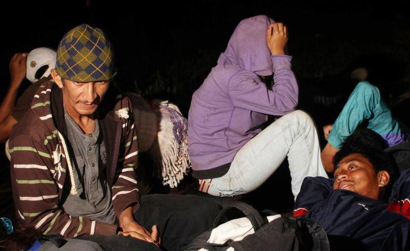 Entre los rescatados en Oaxaca se encontraba una mujer embarazada oriunda de Nepal. (Archivo/Notimex)