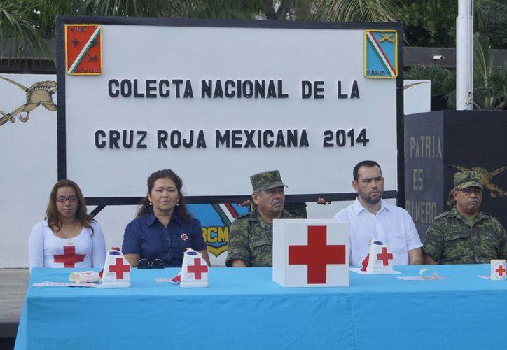 La Cruz Roja en Chetumal sólo ha recuadado 400 mil pesos. (Harold Alcocer/SIPSE)