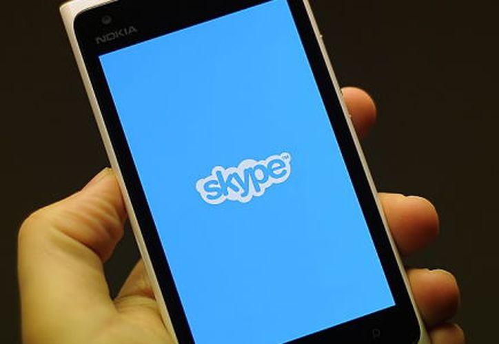 Desde 2011, Skype es propiedad de Microsoft. (Contexto/Internet).