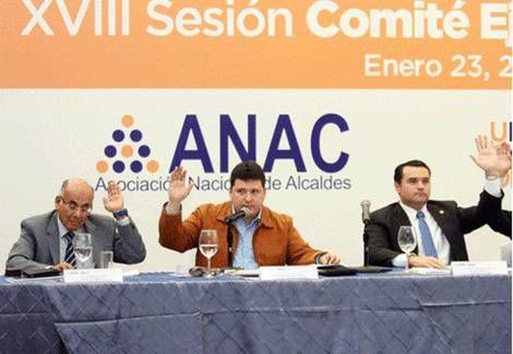 La reunión de la Asociación Nacional de Alcaldes fue en San Pedro Garza García, Nuevo León. (Milenio)