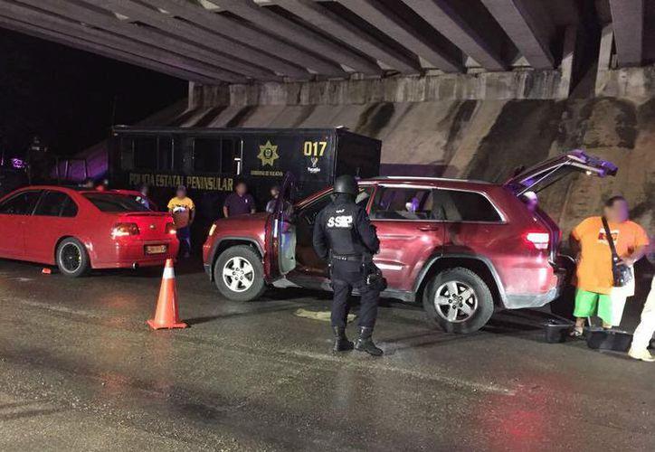 De enero a junio, la Policía Federal (PF) detuvo a 50 personas que transitaban en Yucatán con vehículos con reporte de robo. (Milenio Novedades)