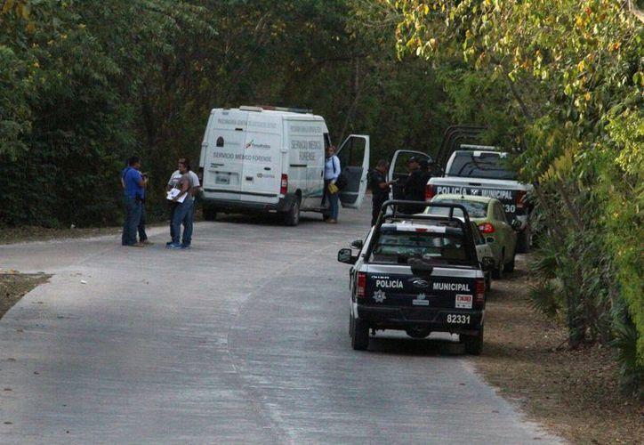 El lesionado murió en el Hospital General de Playa del Carmen. (Foto: Redacción)