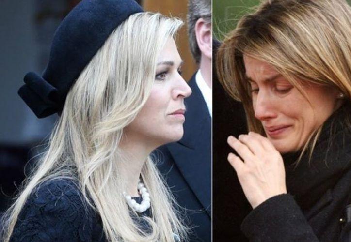 Las reinas consortes perdieron a sus hermana en similares circunstancias. (El Clarín)