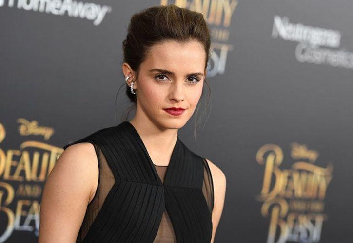 La actriz, Emma Watson sorprendió con un bodysuit ecológico en su gira para promover la película 'The Circle'. (Foto: Internet)