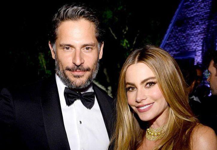 Sofía Vergara y Joe Manganiello en la cena anual de corresponsales de la Casa Blanca, lugar donde se conocieron.(usmagazine.com)
