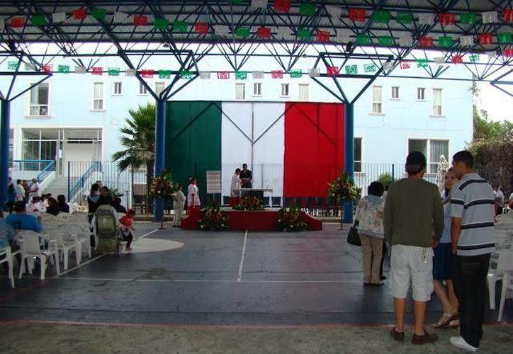 Imagen de archivo del interior del Oratorio de San Juan Bosco en Puebla. (www.donbosco.mx)