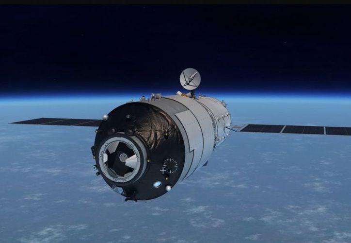 Tiangong-1  fue lanzado el 30 de septiembre de 2011 a bordo de un cohete chino Long March 2F/G. (Foto: Contexto)