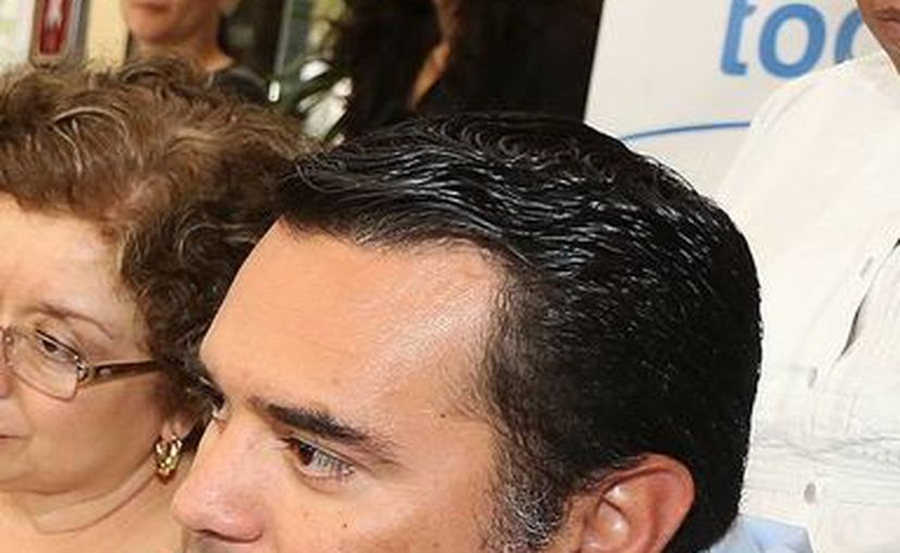 El alcalde Renán Barrera Concha. (Christian Ayala/SIPSE)