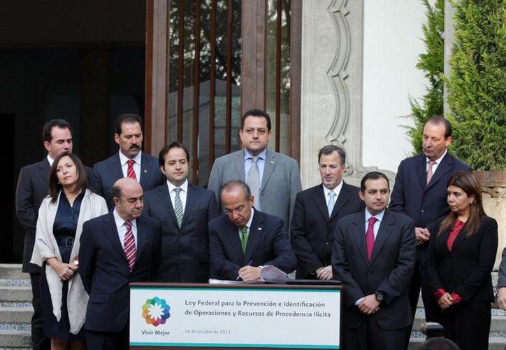 La norma fue promulgada por el presidente Calderón en octubre pasado. (Archivo/Notimex)