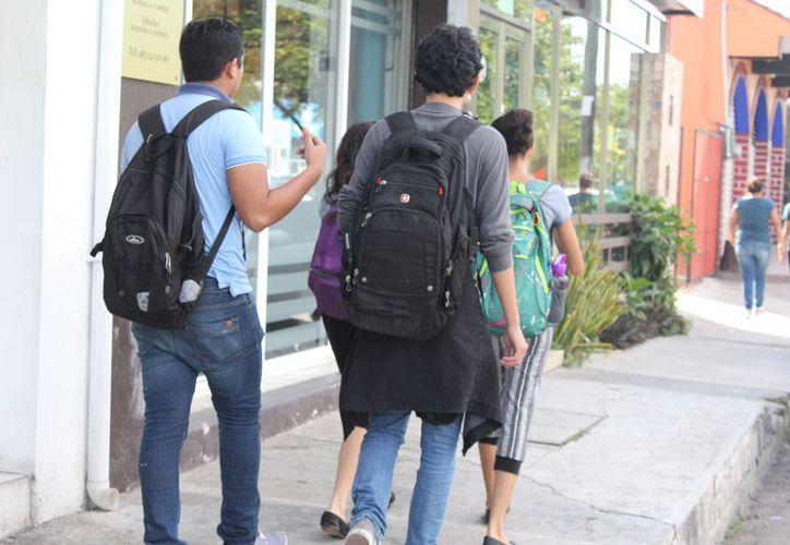 Hasta el semestre pasado, estudiaban bajo esta modalidad más de mil 300 personas en la entidad. (Joel Zamora/SIPSE)
