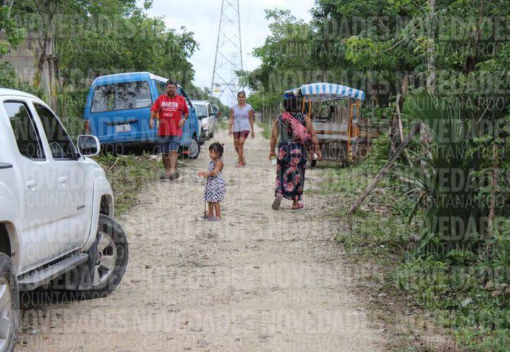 Las familias que serán reubicadas viven en zona irregular. (Adrián Barreto/SIPSE)