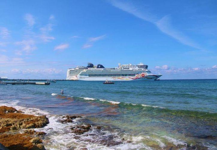 El programa de llegadas contempla el arribo de dos trasatlánticos el domingo 8 de marzo, para beneficio de los turisteros de la isla. (Gustavo Villegas/SIPSE)