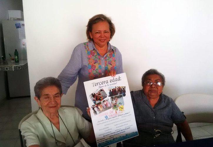 Con la finalidad de abogar por la dignidad de la gente mayor, en Mérida se imparte un curso de verano dirigido exclusivamente a los adultos mayores. (Milenio Novedades)