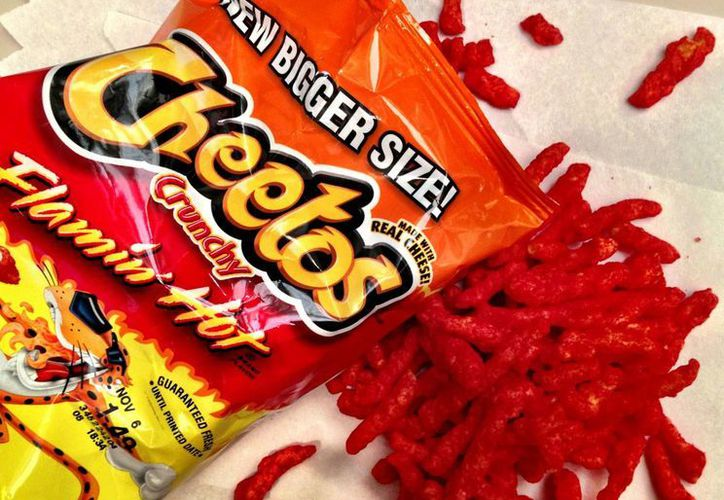 Pepsico, propietaria de la marca Cheetos, es la empresa con mayor número de productos chatarra en México. La imagen es de referencia. (glogster.com)