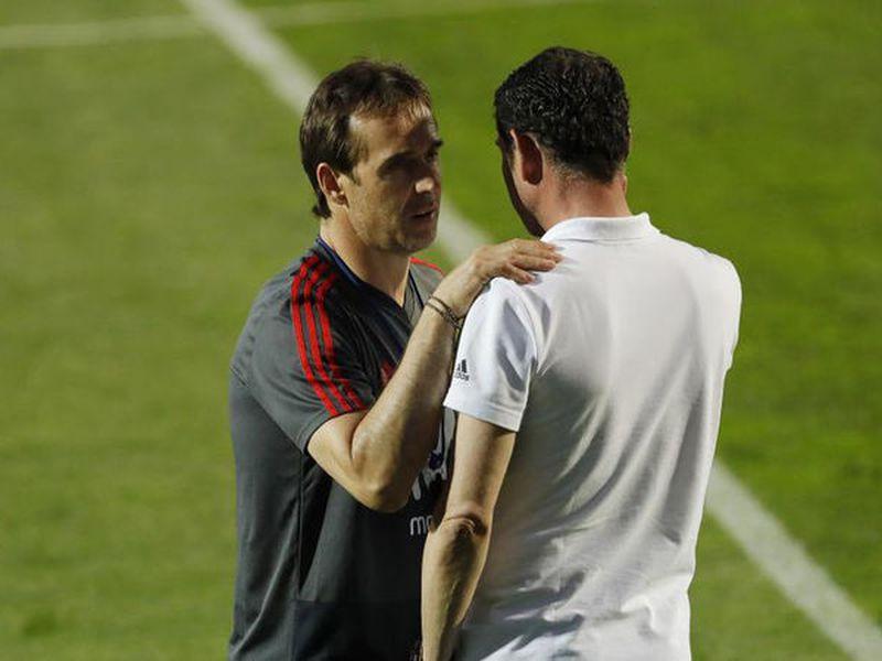 Julen Lopetegui, que al mando de la Selección Española la calificó al Mundial sin haber perdido ningún partido, ahora será parte de Real Madrid (Foto: marca)