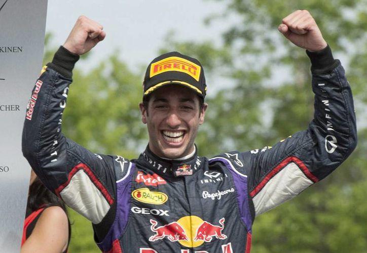 El GP de Canadá es el primer triunfo de Daniel Ricciardo (Red Bull) en el Mundial de Fórmula Uno. (AP)