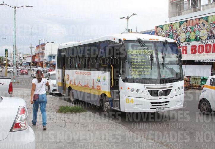 Con esta son tres empresas que dejan tirado el servicio en Chetumal. (Joel Zamora/SIPSE)