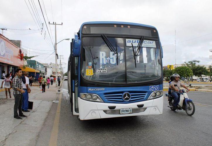 El último aumento en la tarifa de transporte fue en diciembre de 2014. (Yajahira Valtierra/SIPSE)