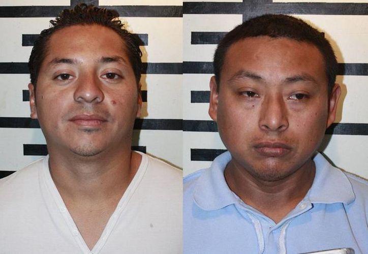 José Rodrigo Zavala Gamboa y Jesús Roberto Cano Ceh fueron denunciados por sus exesposas. (FGE)