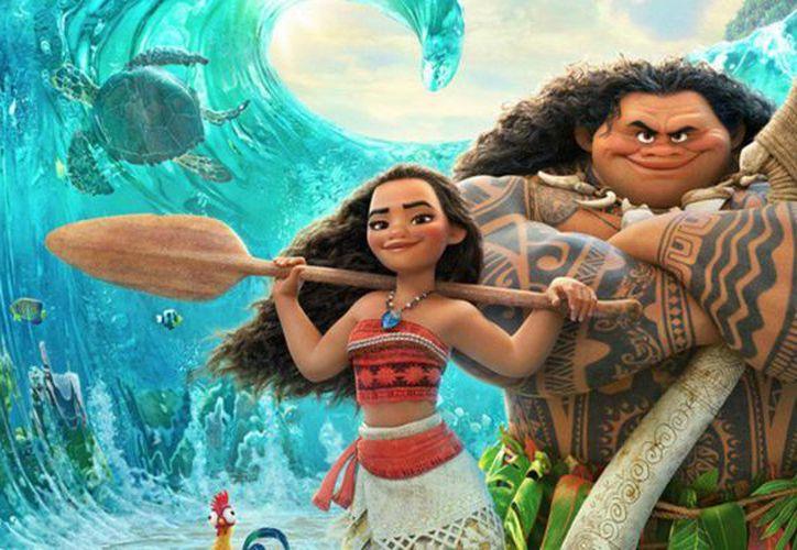 La cinta animada de Disney,  Moana, recaudó 81.1 millones de dólares durante el fin de semana largo, por el día de Acción de Gracias. (Agencias/Archivo)