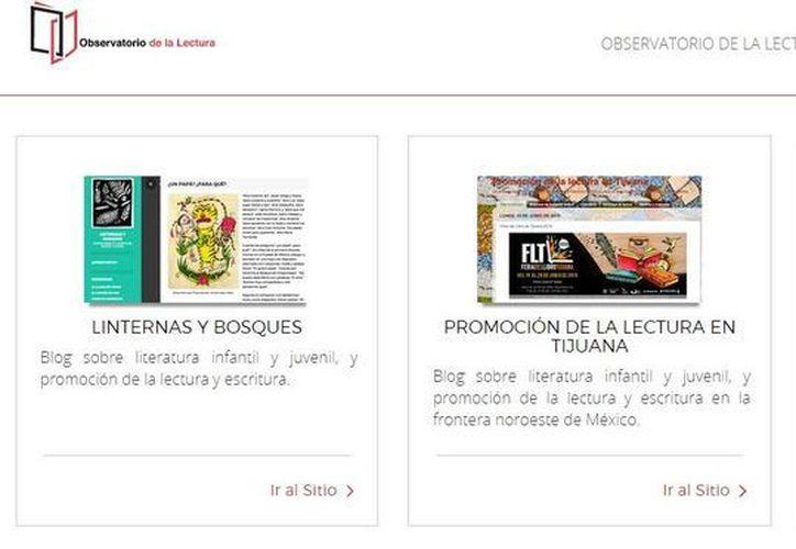 El Conaculta anunció la plataforma virtual 'observatorio.librosmexico.mx', la cual busca ser una herramienta útil para el fomento a la lectura, el libro y la industria editorial.(observatorio.librosmexico.mx)