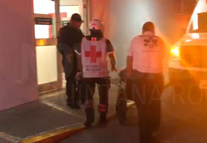 Los lesionados fueron enviados al Hospital General y al de la Región 510. (Redacción/SIPSE)