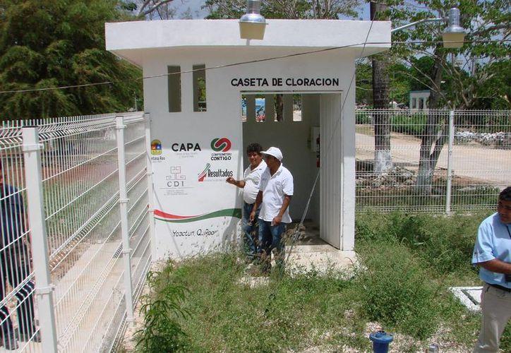 Como consecuencia de una serie de apagones, se suspendió el suministro de agua potable. (Manuel Salazar/SIPSE)