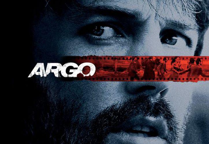 """En la extensa lista aparece la cinta  """"Argo"""". (warnerbros.com)"""