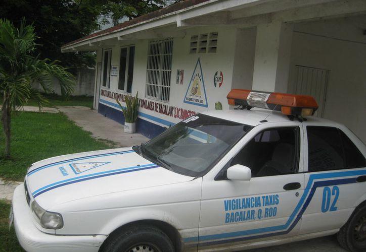 Detectan a taxistas que actuaron en actos vandálicos en Bacalar.