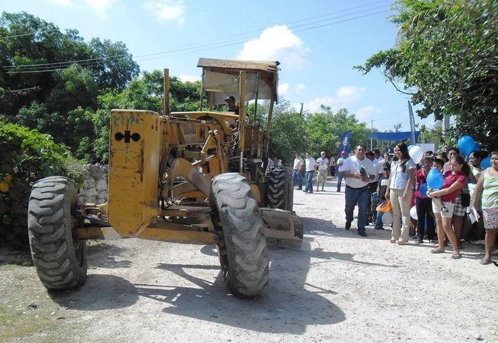 Obras en comisarías de Mérida. (Cortesía)