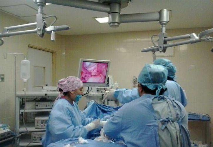 Este tipo de cirugía permite al paciente una recuperación más rápida. (Cortesía)