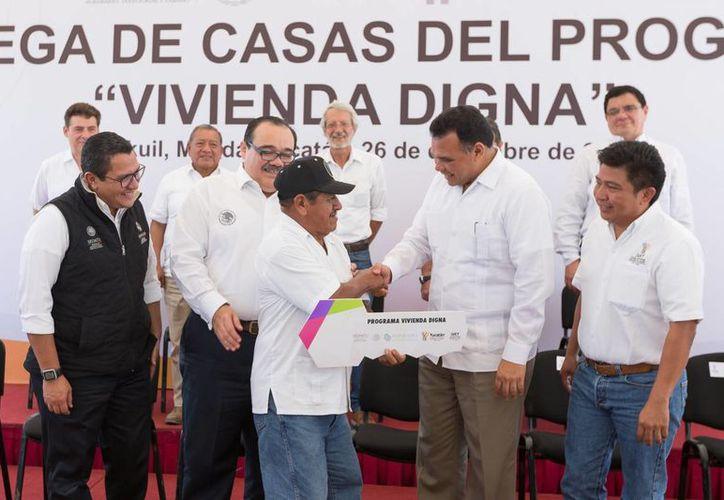 Entre los eventos a los que asistirá el gobernador Rolando Zapata este sábado está el Inicio de los trabajos de construcción del Lienzo Charro, en la carretera Panabá-Kikil. (SIPSE)