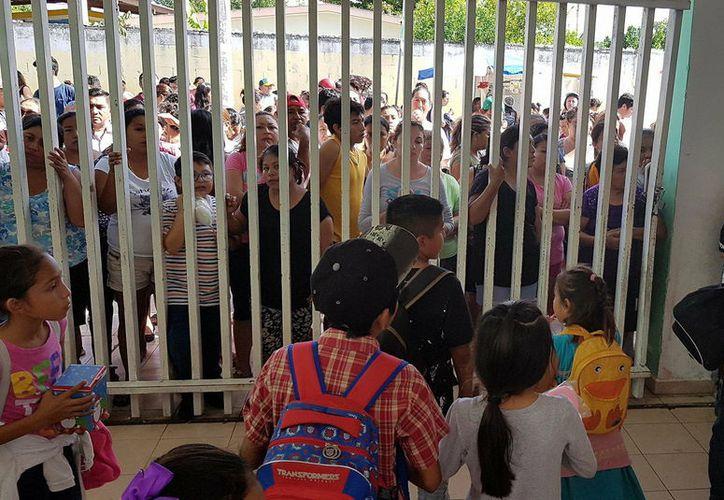 Las clases en el nivel básico en Yucatán se reanudarán el lunes 8 de enero. (Foto: Milenio Novedades)