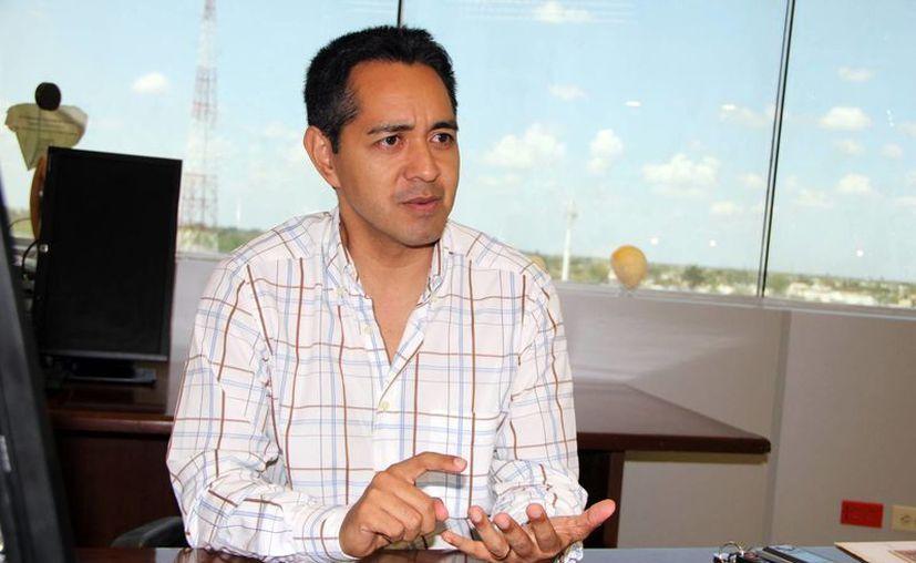 Jesús Vega Herrera, representante del IMPI en el sureste. (Milenio Novedades)