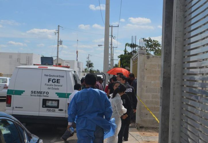 El presunto homicida del caso de Las Américas ya habría sido detenido. Fotografía del lugar donde sucedieron los hechos. (Milenio Novedades)