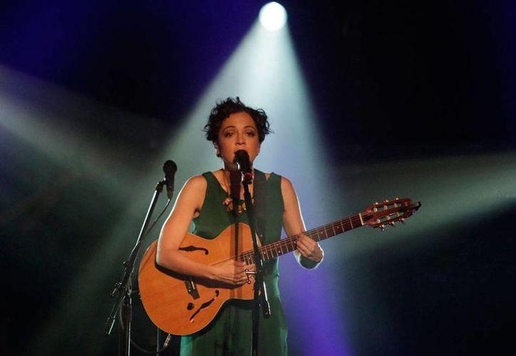 Natalia Lafourcade presentará esta semana su disco 'Hasta la raíz', en el Auditorio Nacional. (Archivo/NTX)