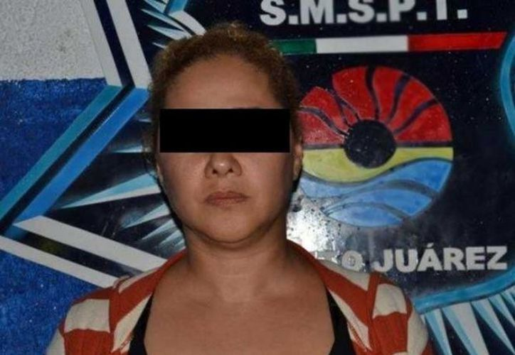 Tras una lucha incansable entre el narcotráfico, por querer desplazarla de Cancún. Autoridades la detienen en Puebla (Foto: Excélsior).