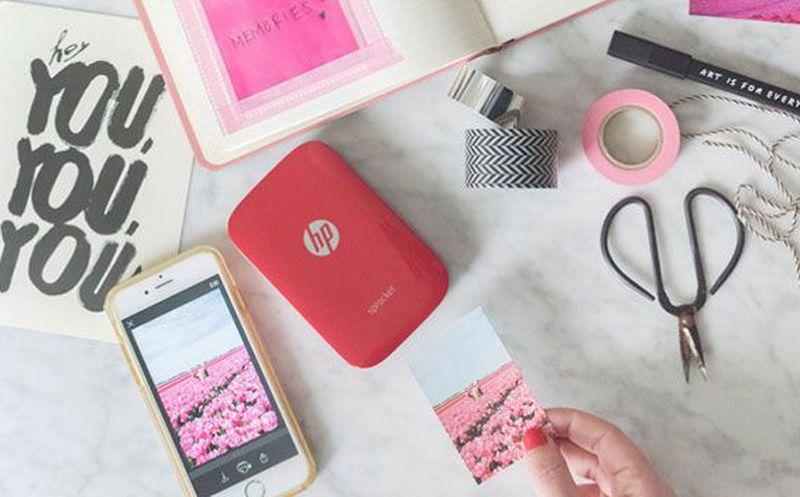 605f21831a6 HP lanzó Sprocket, una impresora de bolsillo portátil para conectar el  smartphone o la tablet