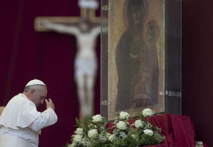 Jorge Bergoglio fue bautizado en 1936, en Buenos Aires. (Agencias)
